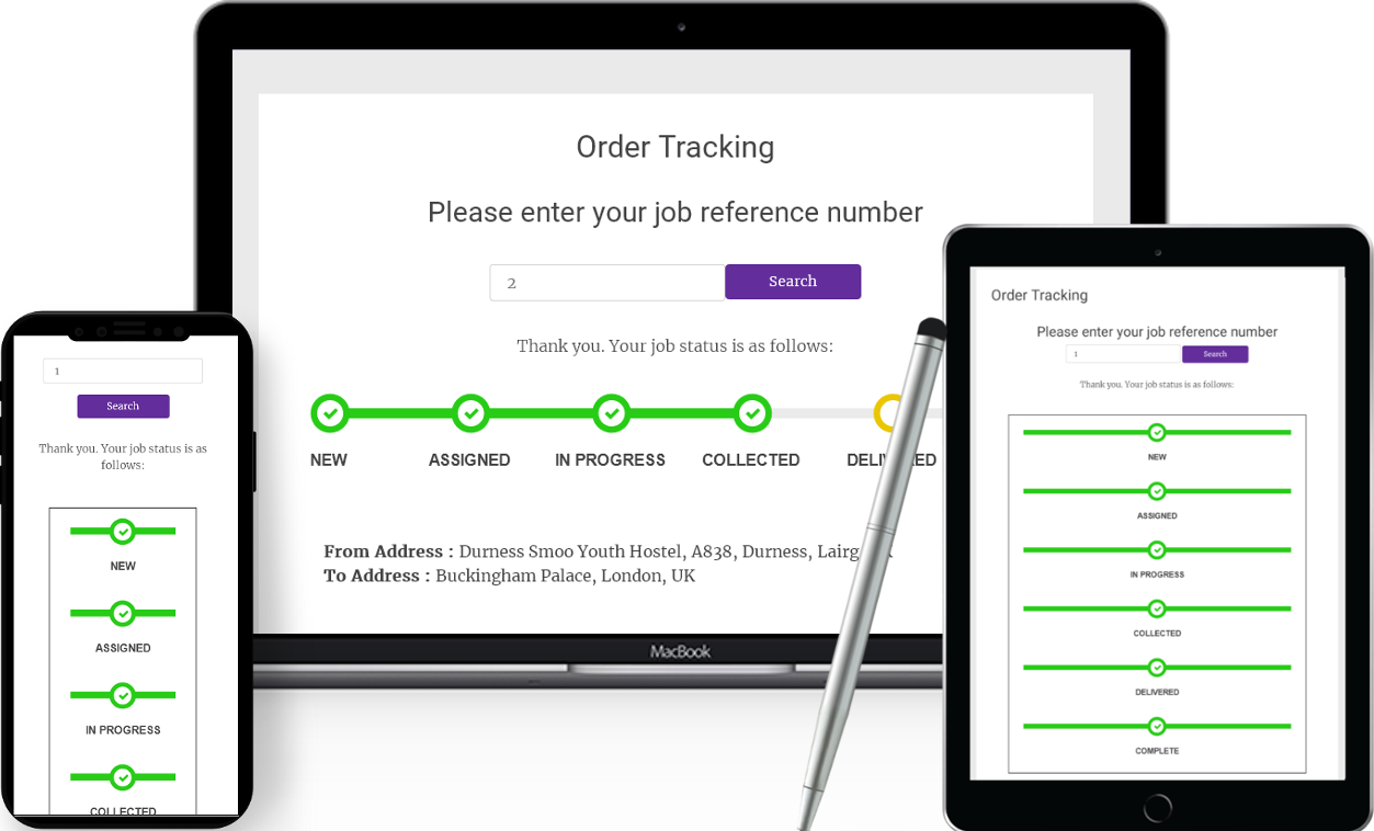 A delivery tracking wordpress plugin for courier or transportation websites